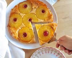 dessert aux oeufs rapide recette gâteau renversé à l ananas sans oeuf sans lactose