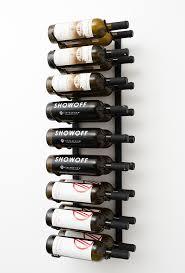3 ft Wall Series Metal Wine Rack 9 to 27 bottles VintageView