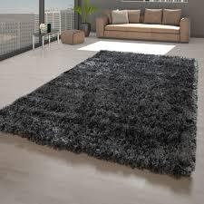 flokati teppich wohnzimmer einfarbig