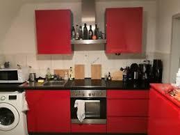 details zu küche rot hochglanz gebraucht