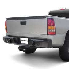 100 Iron Cross Truck Bumpers Chevy Silverado 2004 Heavy Duty Series Full Width Rear