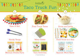 Taco Truck Fun Kit   Kidstir Taco Truck Favorite Recipes Pinterest Recipes The Best Chicken Tacos Ever Bless This Mess Simple Beef Street Bev Cooks Taco Truck April 2015 Mantry Medium Red Kitchen Spicy Shrimp With Garlic Cilantro Lime Slaw Recipe Pinch Walking Beyond The 30 Mexican Mexicaninspired And Tmex Crispy Potato Chorizo Serious Eats I For One Welcome All Trucks Immigrants Bring Us Their Summer Vegetarian Avocado Cream Naturally Ella