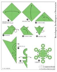 Written Folding Directions Picture Snowflake Patterns