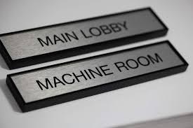 fice Door Name Plates