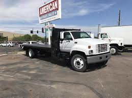100 Comercial Trucks For Sale 1999 GMC TOPKICK C6500 Flatbed Truck 236496 Miles