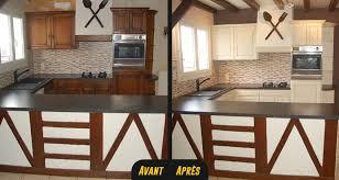 délicieux peinture meuble cuisine stratifie 11 r233novation et