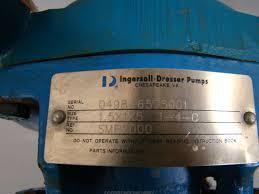ingersoll dresser pumps 1hp 230 460v 3ph 1 5x1x5 1 4 c joseph