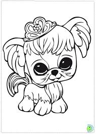 Littlest Pet Shop Zoe Coloring Pages