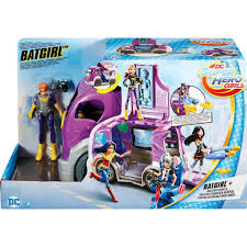 100 Dc Toy Trucks Mattel Superhero Batgirl Headquarters On Wheels Cars