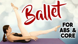 Ballet Fit Core & Abs Challenge Pilates Toning Exercises