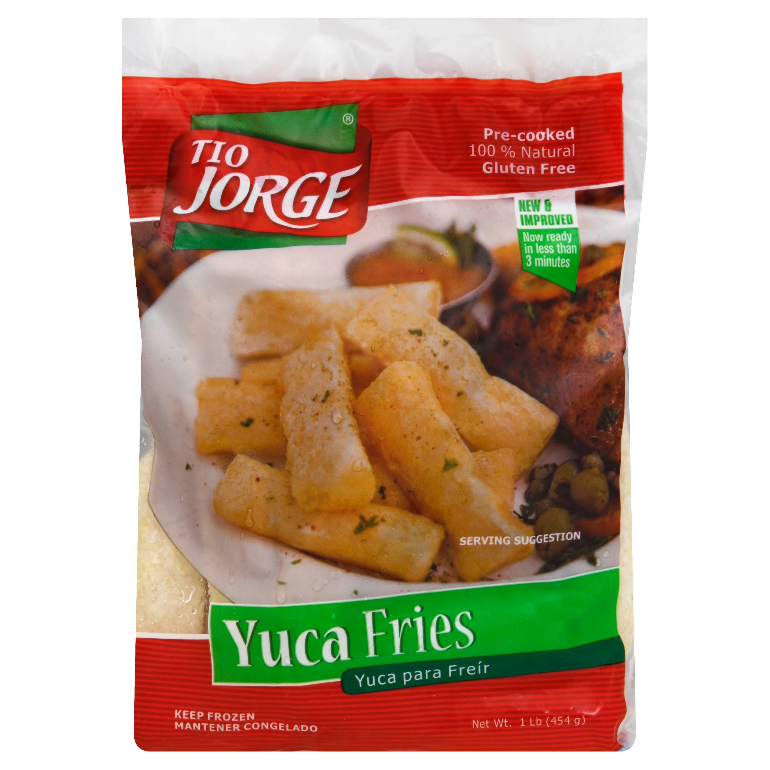 Tio Jorge Yuca Fries - 1 lb