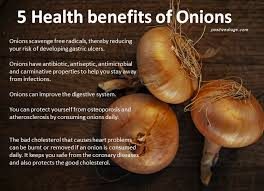 5 Health Benefits Of Onions