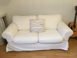 gemütliches sofa zweisitzer ektorp ikea