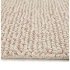 teppich design rechteckig 230 x 160 cm bader in wolle beige moderne und zeitgenössische teppiche