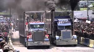 100 Big Trucks Racing Truck To The Race Is On Bluegrass Music Style YouTube