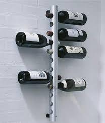 12 Holes Vertical Wine Racks Holder Metal Bottle Rack Wine Coolers