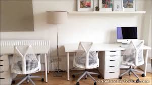Linnmon Alex Desk Black by Ikea Alex Drawers Youtube