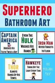 Vintage Superhero Wall Decor by Best 25 Superhero Bathroom Ideas Only On Pinterest Super Hero