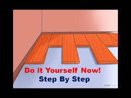 how to install pergo laminate flooring youtube