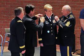 Louisiana National Guard pins first female general officer