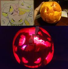 Pokemon Pumpkin Carving Templates by Pokemon Haunter Pumpkin Stencil Images Pokemon Images