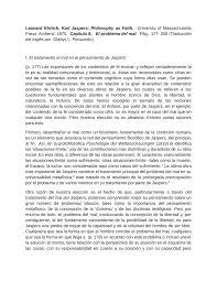 100 Leonard Ehrlich PDF Traduccin De H EL PROBLEMA DEL MAL