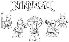 Lego Ninjago Coloring Pages Pdf Colouring