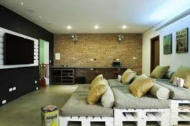 Recycling Wood Pallets For Living Room Sofa