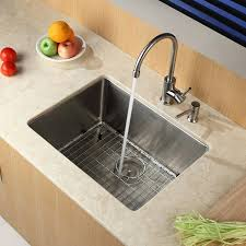 Stainless Steel Sink Grids Canada by Kraus Khu101 23 23 Inch Undermount Single Bowl 16 Gauge Stainless