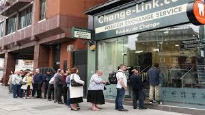 how do bureau de change yougov the cashless challenge to bureaux de change