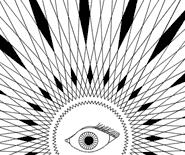 Evil Eye Mandala Icon