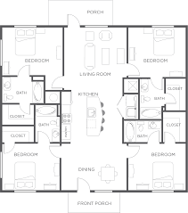 One Bedroom Apartments Lubbock by 4 Bedroom Flat Plan Design Descargas Mundiales Com