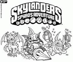 Skylanders Printable Coloring Pages