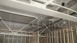 Hanging Drywall On Ceiling by Install Drywall Suspended Ceiling Grid Systems Drop Ceilings