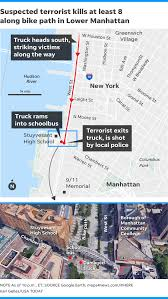 NYC Terror Attack: Motorist Kills Several Pedestrians, Shot By Police New Yorks Mapping Elite Drool Over Newly Released Tax Lot Data Wired A Recstruction Of The York City Truck Attack Washington Post Nysdot Bronx Bruckner Expressway I278 Sheridan Maximizing Food Sales As A Function Foot Traffic Embarks Selfdriving Completes 2400 Mile Crossus Trip State Route 12 Wikipedia Freight Facts Figures 2017 Chapter 3 The Transportation 27 Ups Ordered To Pay State 247 Million For Iegally Dsny Garbage Trucks Youtube