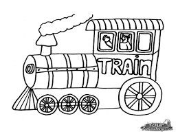 Coloriage Train Thomas