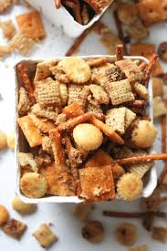 Pumpkin Spice Chex Mix by Cheesy Brown Butter Chex Mix What Molly Made