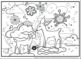 Printable Winter Coloring Pages For Adults Reading Colouring Free Themed Sports Full Size