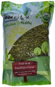 Are Pepitas Pumpkin Seeds Good For You by Amazon Com Food To Live Organic Sunflower Seeds Raw No Shell