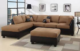 Poundex Bobkona Sectional Sofaottoman by Sectional Sofas Loveseats And Chaises Ebay