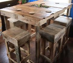 fabriquer table haute cuisine großartig fabriquer table haute en palette 44 id es d couvrir photos
