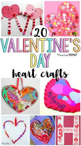 20 Valentines Day Heart Crafts For Kids