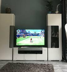 möbel höffner puro möbel wohnzimmer anbauwand modern weiß