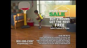 Empire Carpet And Flooring by Empire Today Tv Commercial For Empire U0027s Whole House Sale Ispot Tv