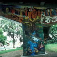 Chicano Park Murals Restoration by Calisphere The Tree Of Life