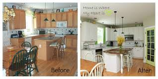 Kitchen Makeovers On A Budget Before And After 100 Home Design See