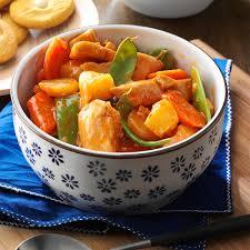 Slow Cooker SweetandSour Chicken Recipe Taste of Home