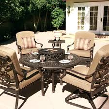 Half Circle Outdoor Furniture by Patio Ideas Patio Furniture With Fire Pit Table Canada Semi