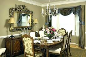 Curtains For Dining Room Curtain Ideas Formal Drapes