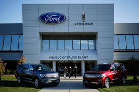 Ford Digs Further Out Of Trump's Doghouse As GM Takes Its Turn ... Ford Motor Co Historic Photos Of Louisville Kentucky And Environs Cars And Trucks Are Americas Biggest Climate Problem For The 2nd Investing 900m In Truck Plant Wkms How To Apply A Job Company Case Studies Luckett Auto Industry Healthy Enough To Withstand Next Downturn Analysts Suspends Production Of F150 Oakville Assembly Wikipedia Sales Continued Hot Streak October Wsj Trails The Nation In Growth Rate Jobs Population Union Reach Tentative Contract Agreement Insider